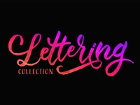 Lettering Collection Dribbble