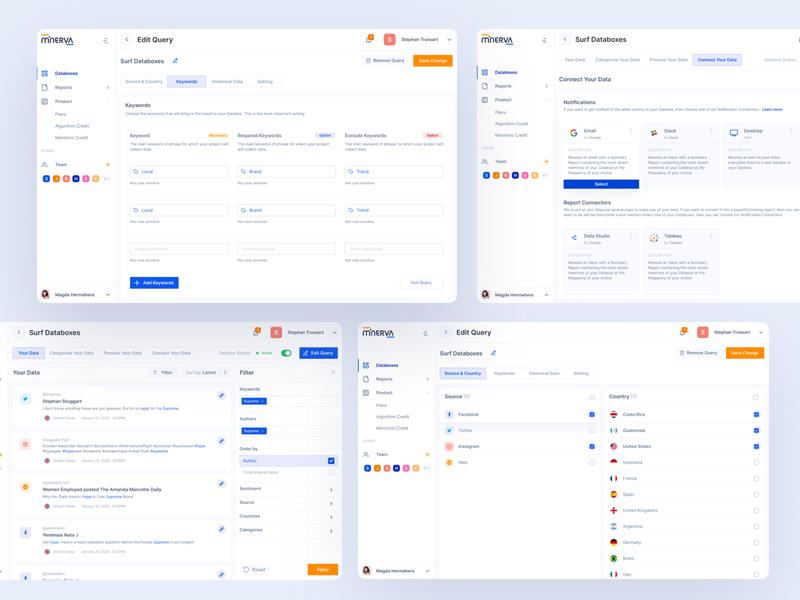 Edit Databoxes Dashboard analyse analytic data dashboard dashboard design ux design ui