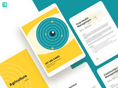 IoT Use Cases eBook editorial design layoutdesign editorial design