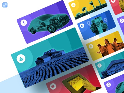 Use Case Card Images iot development iot cards banner template illustration website clean design ui