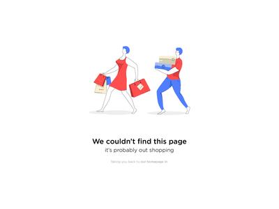 Illustration 404 Error Page