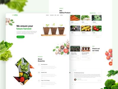 Sunprime Seeds Website