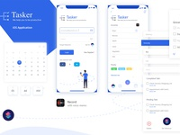 Todo List iOS App interface design