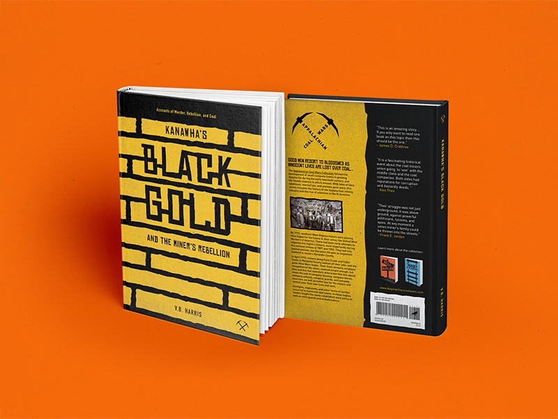 Black And Gold Book Cover : Kanawha s black gold book cover by reagan douglas dribbble