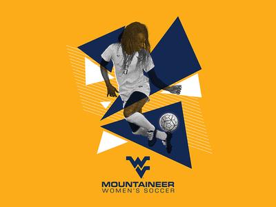 WVU Women's Soccer - Recruitment Graphic