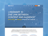 LinkSmart Homepage Design