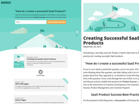Product Success Blog