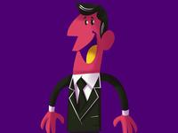Character Design - Pink Man