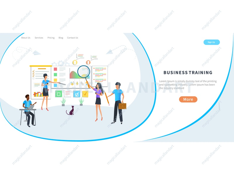 Business meeting, online training courses woman training people mobile internet team tablet webinar dialogue meeting education discussion chat communication office online conference video business