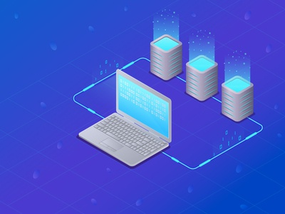 Web hosting and server room