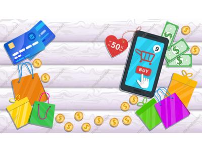 Online mobile shopping app