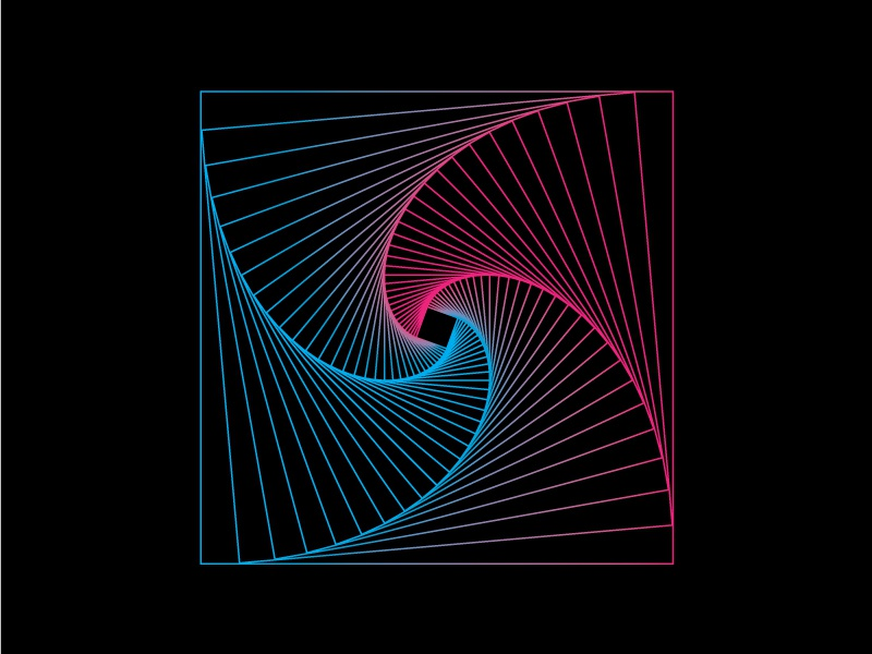 Line And Art Design Srl : Geometric line art by abdallagad dribbble