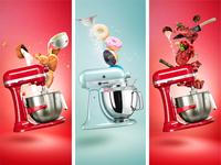 Kitchen Aid Stand Mixer - Key Visuals