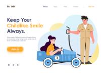 Keep Your Childlike Smile