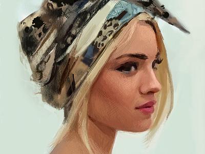 Ipad Pro Art ipad pro painting artwork portrait art drawing ipad