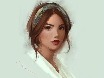 Ipad Pro Drawing apple pencil portrait art painting ipad pro drawing ipad