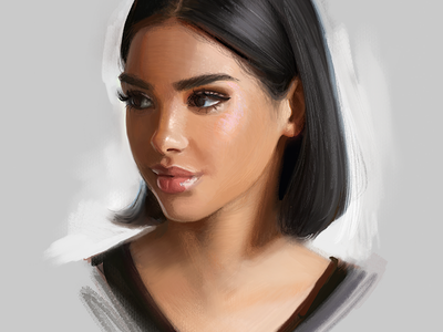 Procreate Art portrait painting painting drawing art procreate