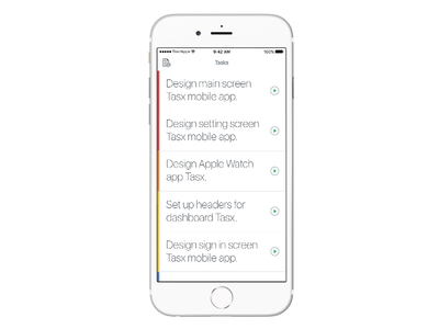 Your daily tasks time management project time management green white daily tasks app