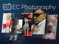 EC Photography Logo Design