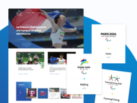 France Paralympique sports sport olympic games olympics olympic paralympics