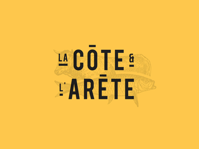 La Côte Et L'Arete restaurant foodporn food design website interface ui webdesign ux