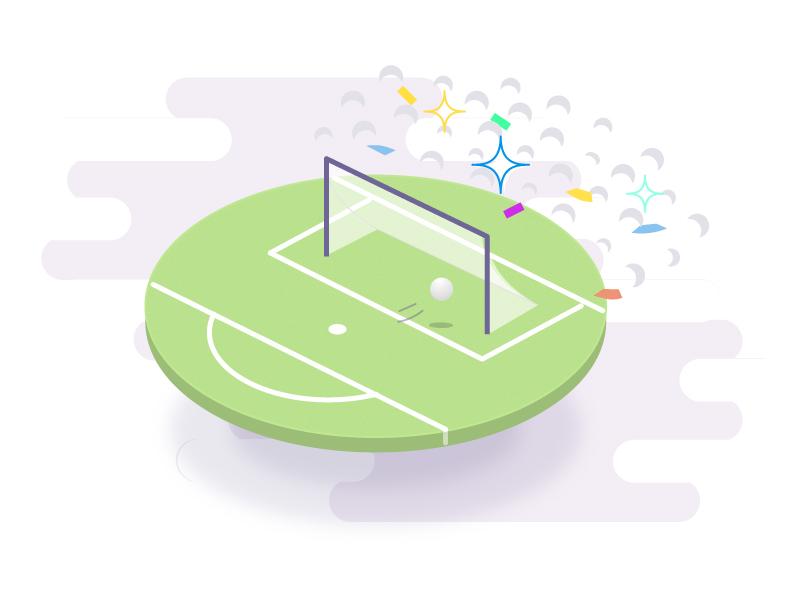 Goooooal !! purple green sport uefa goal footbal foot tfc