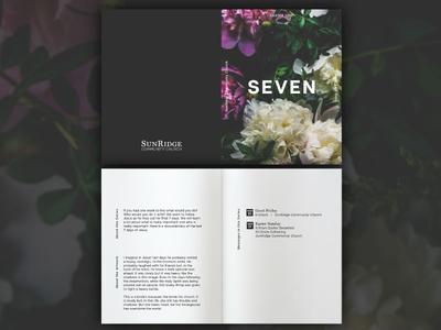 Seven Easter Series Design - Card