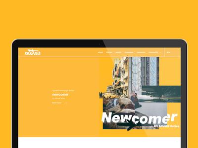 Newcomer Advent Series Design
