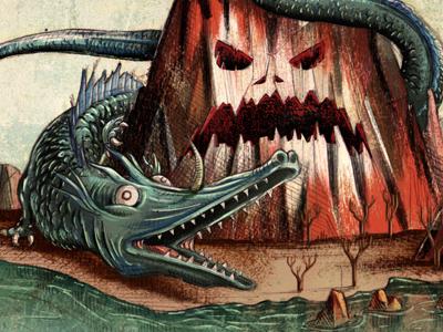 Leviathan by Emilio Rubione on Dribbble