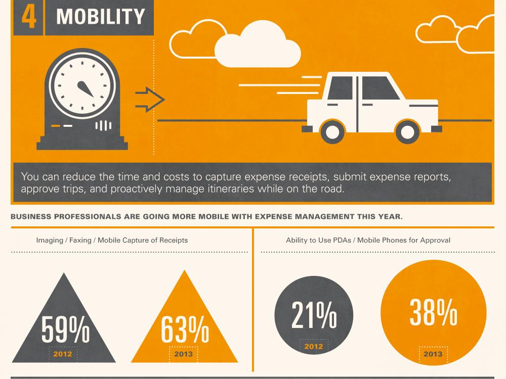 Travel Management illustration circle graph infographic data visulization