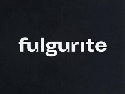 fulgurite logotype electronic music logotype fulgurite logo