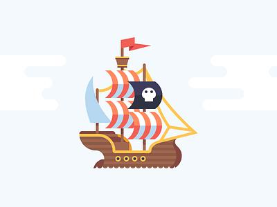 Pirate Galleon cannon ship galleon pirate