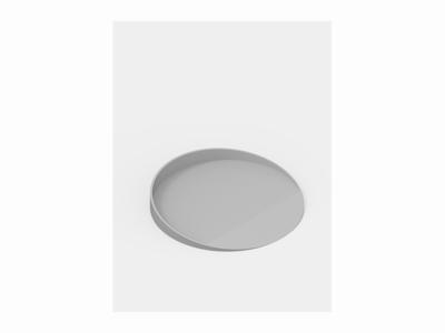 Grey Circle Tray