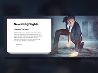News & highlights Section