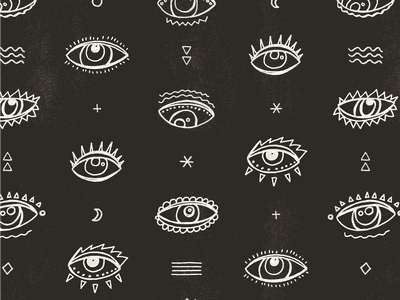 Eyes seek mystical mystic hand drawn repeat texture pattern design pattern art patterns pattern all seeing eye allover print design print eyes eye illustration design