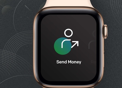 Qeutran UI design for Apple Watch