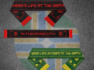 Life at the Death (Soccer Supporter Scarf)