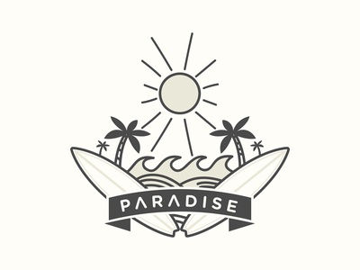 Paradise Illustration