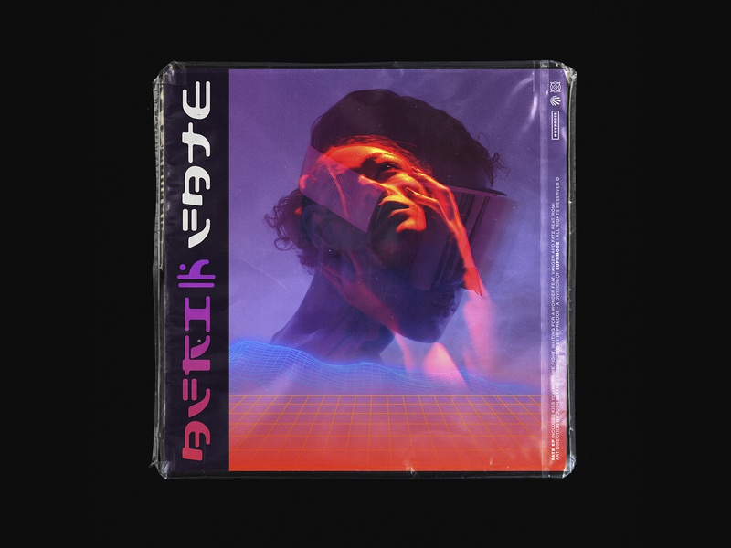 FATE EP campaigns colors composition retrowave futurism cover artwork cover
