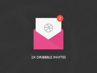 2 Dribbble Invites!!