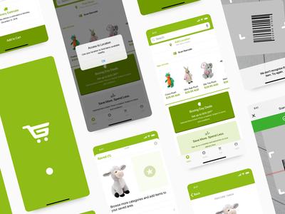 Gift Shop App UI + Branding