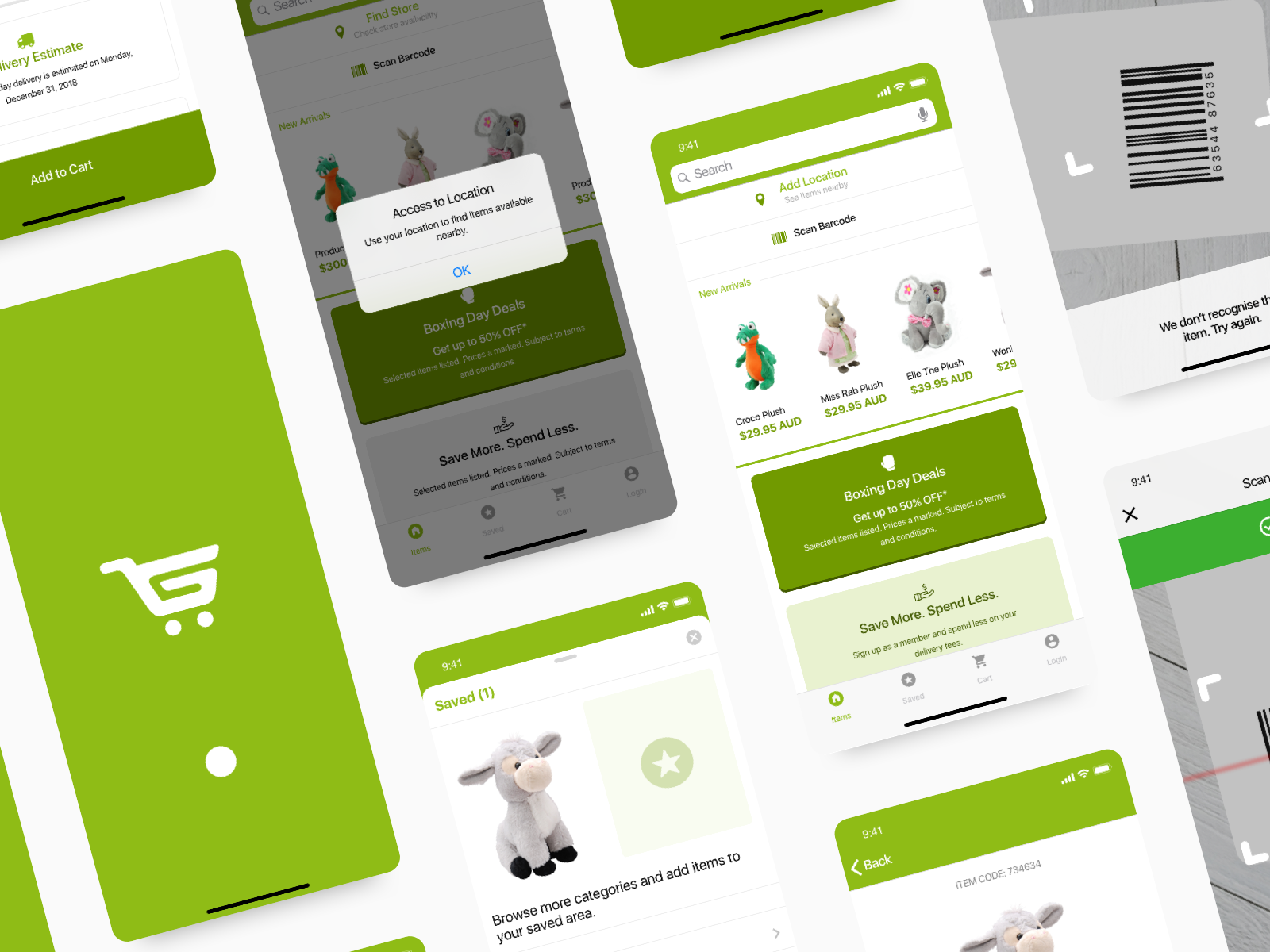 Gift Shop App Ui Branding By Just Zaow On Dribbble