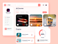 Online Course Dashboard UI Experiment