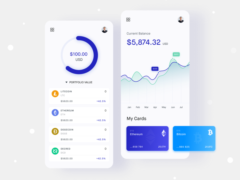 Responsive design - Cryptocurrency Exchange Platform ethereum wallet bitcoin wallet money exchange platform money transfer platform cryptocurrency bitcoin mobile app design uidesign ux dashboard design mobile web illustration payment dribbble best shot