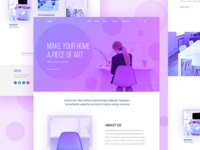 Interior Landing Page Experiment