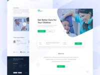 Medical Website Experiment