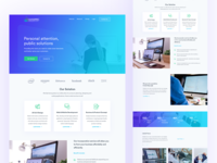 Software Agency Homepage