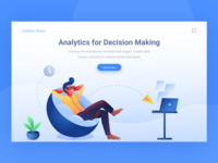 Data analytics website Header Exploration