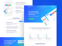 Software Introduced Landing Page Design