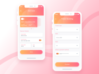 Event Mobile App UI Design